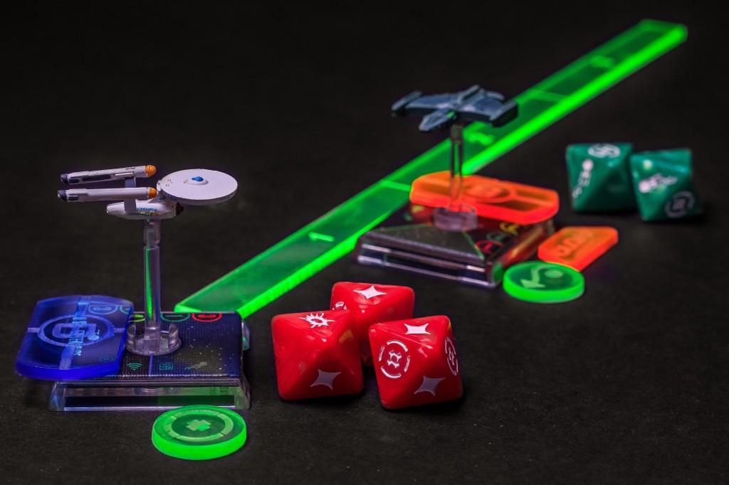 Star Trek Attack Wing Template Set